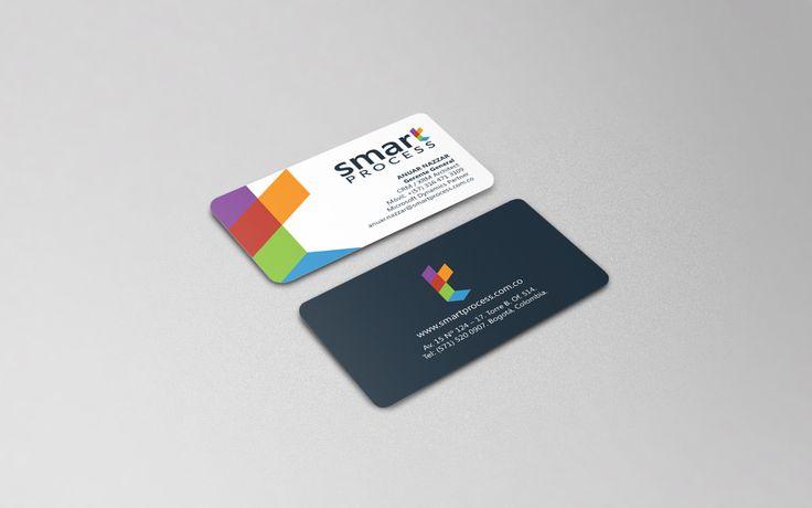 Diseño Logo y Tarjetas de Presentación - Smart Process