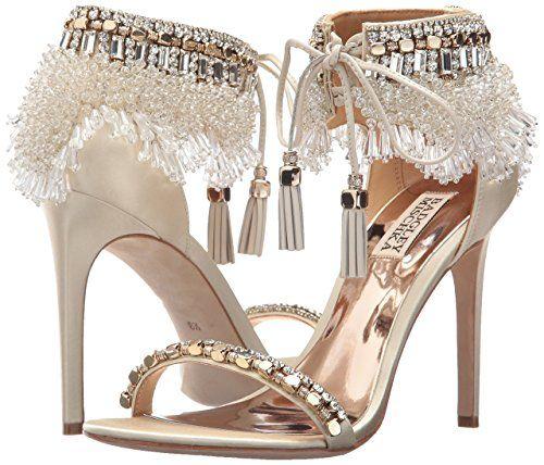 b1cee73e56be4 Amazon.com: Badgley Mischka Women's Katrina Heeled Sandal: Clothing ...