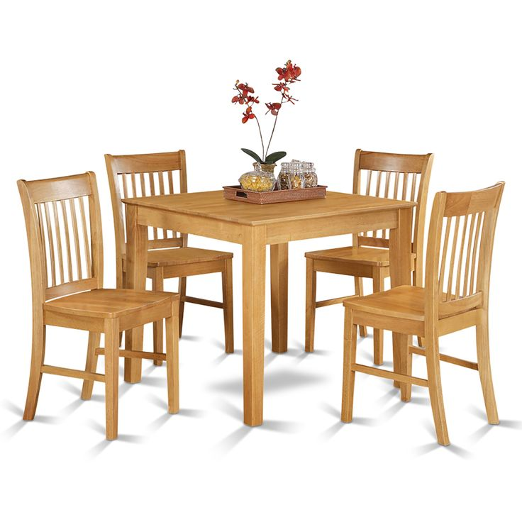 Best 25 small dining table set ideas on pinterest wall for Square dinette sets