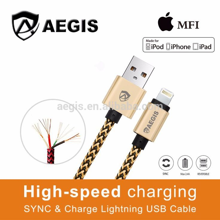 Hot Sale 2017 Mobile Accessory Braided Fabric Flexible Cable for iphone Micro Usb Cable
