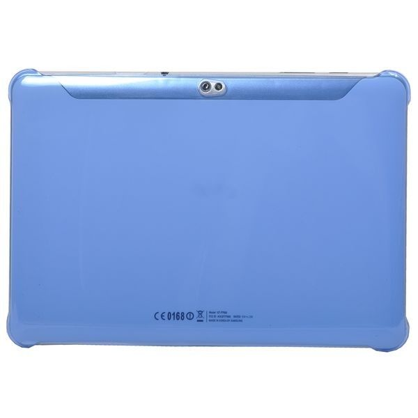 Slim Series (Blå Gjennomsiktig) Samsung Galaxy Tab 10.1 P7500 Deksel