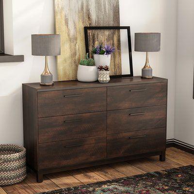 Mercury Row Zech 6 Drawer Dresser - http://delanico.com/dressers/mercury-row-zech-6-drawer-dresser-754364909/