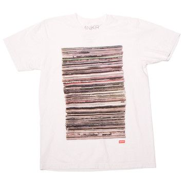 MNKR: Records Tee Men's, at 14% off!