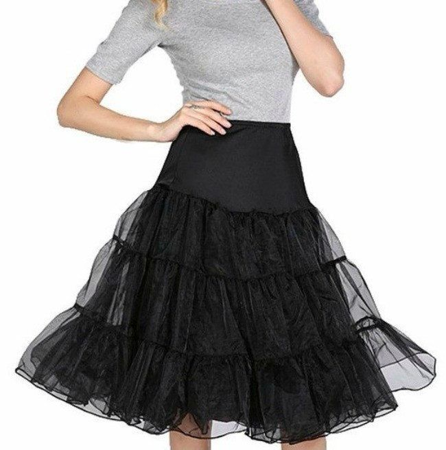 Give some extra flair to that favorite dress or skirt with a petticoat. Adding…