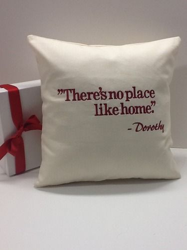 There's no place like home! #Realtor #closing #housewarming #gift by #WickedStitchesGifts