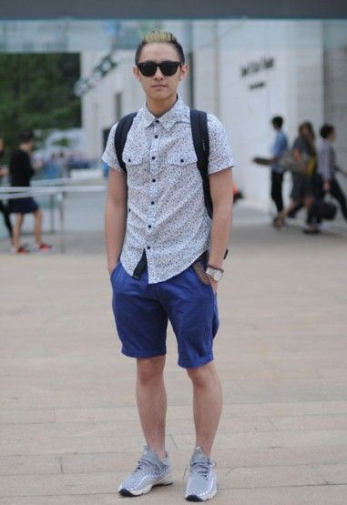 Mens Summer Street Fashion Google Search Things To Wear Pinterest Fashion Shorts And Men