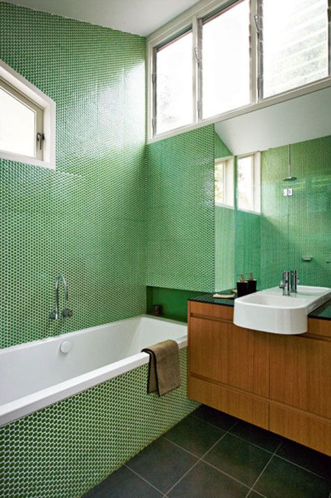 Best 25 Penny Round Tiles Ideas On Pinterest Black Tiles Bathroom Worktops And Bathroom