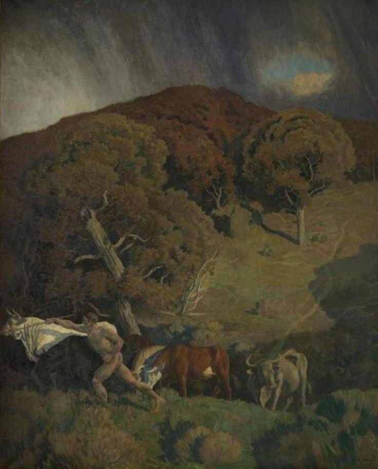 Réne Ménard - La vie pastorale (partie droite)