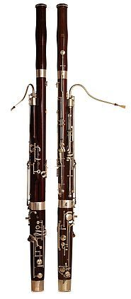 Fagot Vznikl v Itálii v 16. století, jeho název pochází z italského fagotto – svazek, otep. Zpravidla je vyroben z javorového dřeva a je dvouplátkový