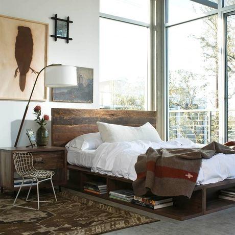 Bed/sidetables by Elemental Design.