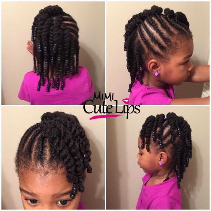 easy natural hairstyles for kids   Nice Hair