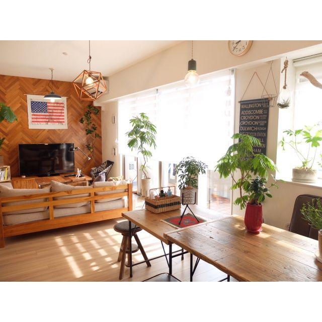 aya_ko0124さんの、リビング,観葉植物,植物,DIY,unico,新婚,マンションインテリア,2人暮らし,ヘリンボーン,WOODPRO,ありがとうございます♡,WOODPRO足場板,アメリカ国旗,連投すみません,新築マンション,RCの出会いに感謝♡,journal standard Furniture,いいね&フォローありがとうございます☆,RC広島支部,ウニコルーム,ウニコ 雑貨,インスタ aya_hara1121,のお部屋写真