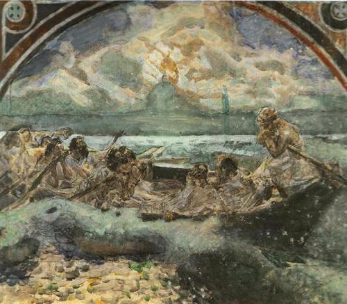 Walking on Water - Mikhail Vrubel