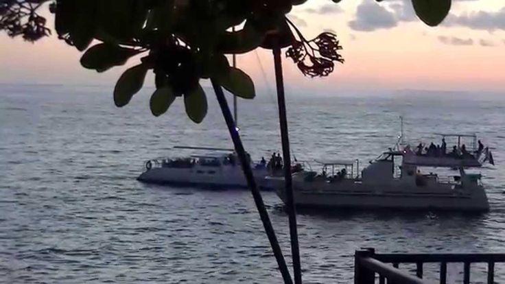 Hawaii 2014, June 005 Sunset!!!!!Закат солнца на океане.