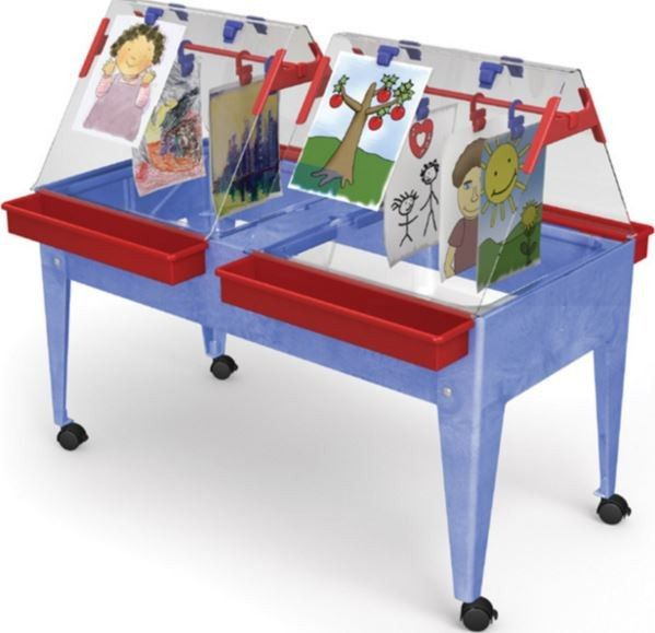 ChildBrite Youth Ultimate Paint & Dry Easel & Activity Center Table - SensoryEdge