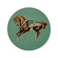 Image result for vintage circus horses