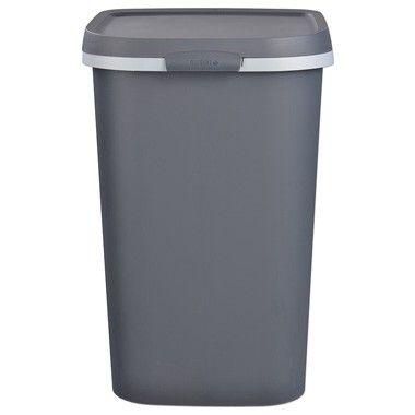 Allibert Mistral afvalbak 50 liter - antraciet