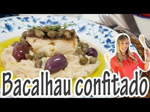 Bacalhau confitado e purê de castanhas portuguesas | Receitas e Temperos