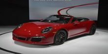 Porsche exhibits the Cayenne GTS and 911 GTS in L.A.