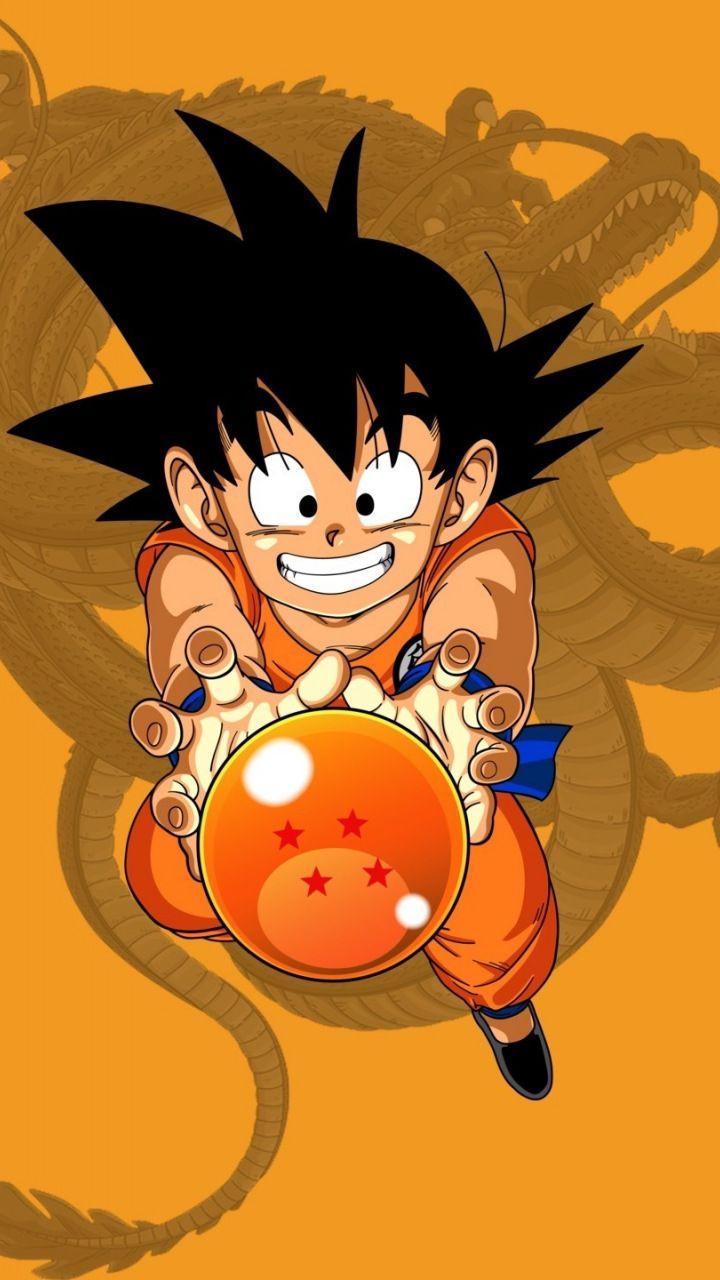 Kid Goku Dragon Ball Minimal 720x1280 Wallpaper Anime Dragon Ball Super Kid Goku Anime Dragon Ball