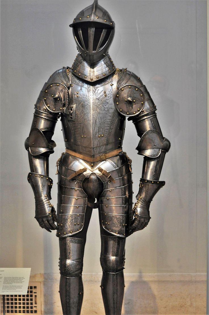 Armor of Archduke Ferdinand I of Austria, by Kunz Lochner, 1549.