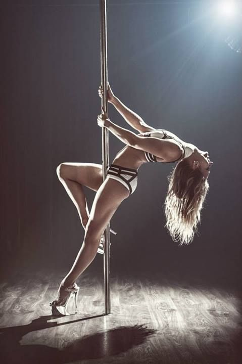 image Femaleagent sexy pole dancer strikes a deal