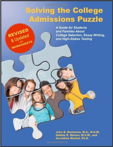 Solving the College Admissions Puzzle null,http://www.amazon.com/dp/0615411274/ref=cm_sw_r_pi_dp_YeT0rb03R6HHDTRJ