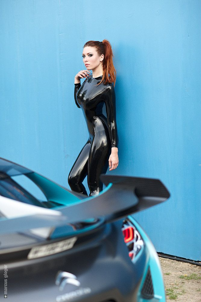 Model: Kay Morgan | Photographer: Marcus Gloger | #Latex ...