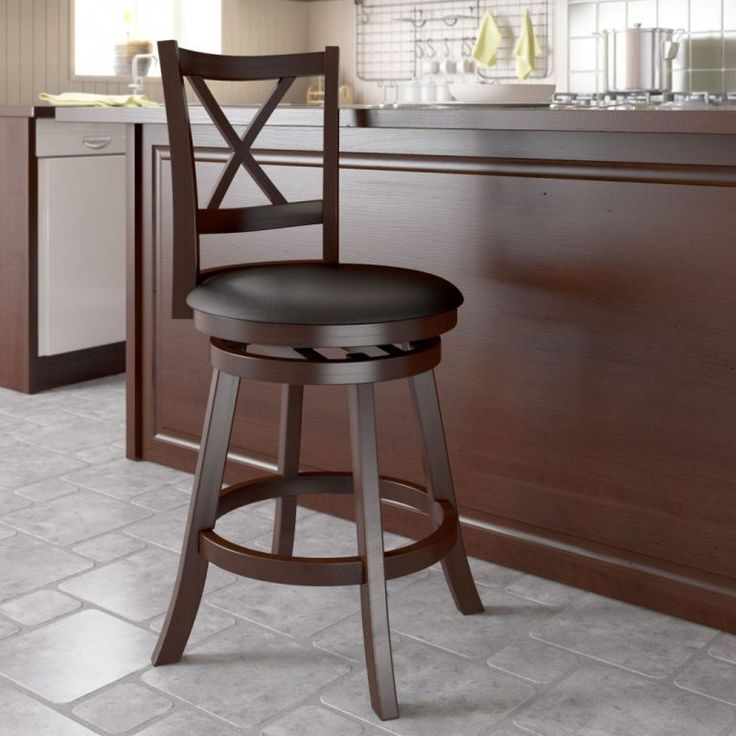 Interior: Exciting Tall Swivel Bar Stool With Leather Backs Counter Height Bar Stools Swivel Leather Wooden Swivel Bar Stools Swivel Metal Bar Stools from Swivel Bar Stools With Back Make Your Mini Bar Perfect