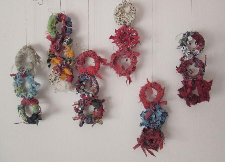 Come riciclare piccoli ritagli di stoffa...