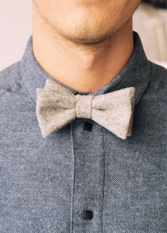 Wool Bow Tie – A Kind of Guise