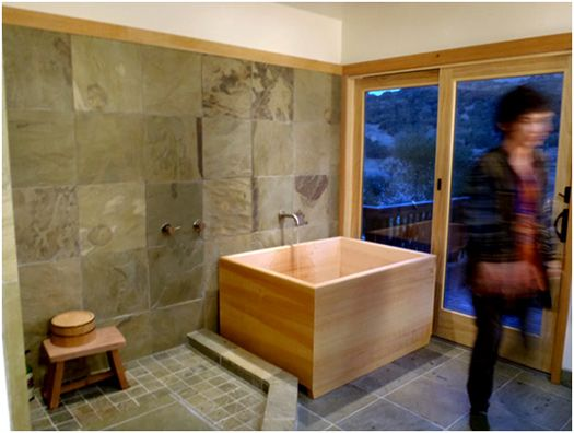 1000 Images About Bathroom Renovation Ideas On Pinterest Japanese Bath Slate Tiles And Grey