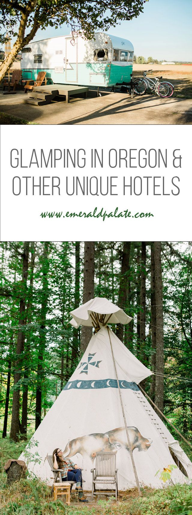 Glamping in Oregon Wine Nation & Different Distinctive Motels in Oregon