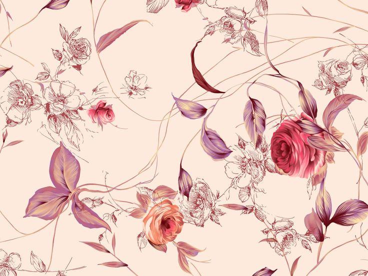 обои с цветочными узорами: 27 тыс изображений найдено в Яндекс.Картинках