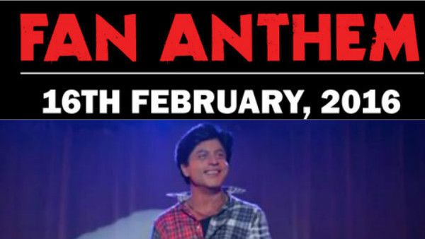 #ShahrukhKhan Upcoming Movie #FANAnthem Will Release #Today!