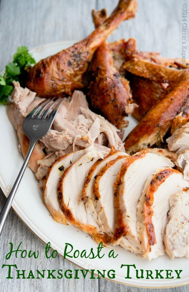 Is this your first time making Thanksgiving dinner? Well rest assured, roasting a turkey is a snap! Read on for tips including purchasing, thawing, preparing, cooking, and carving a turkey including a recipe for Butter & Herb Roasted Turkey and homestyle gravy.