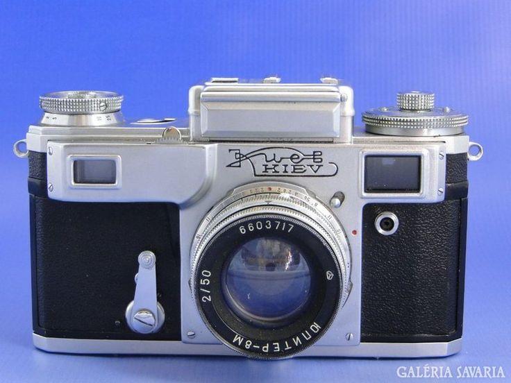 6691 Retro orosz analóg fényképezőgép KIEV