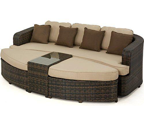Garden Furniture Bed 24 best rattan garden furniture images on pinterest | maze, rattan