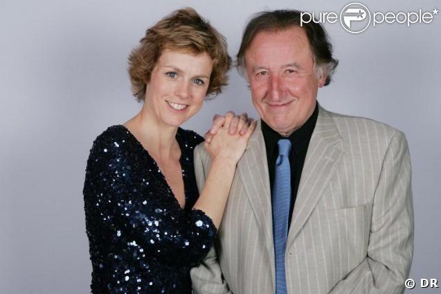 Les acteurs - Anne Richard et Jean-François Balmer. Boulevard du Palais.