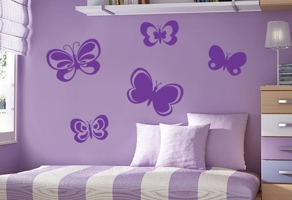 Butterflies for girls rooms?