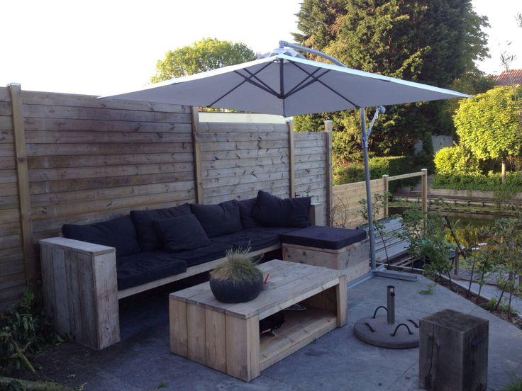 Pallet Bank Kussens : Hoe maak je een loungeset van pallets love and lifestyle