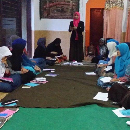 Kegiatan belajar dan menagajar di kursus bahasa arab Al-Azhar pare kediri