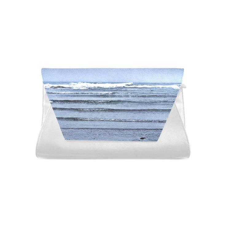 Stairway to the Sea Clutch Bag (Model 1630)