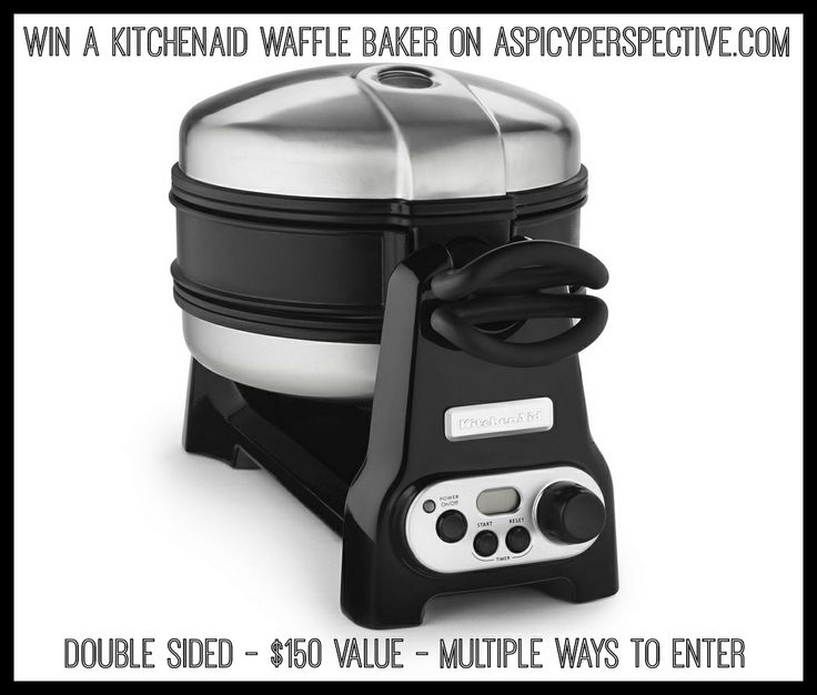 How sad is it I have a waffle maker on my wish list? But I want to win this :-)