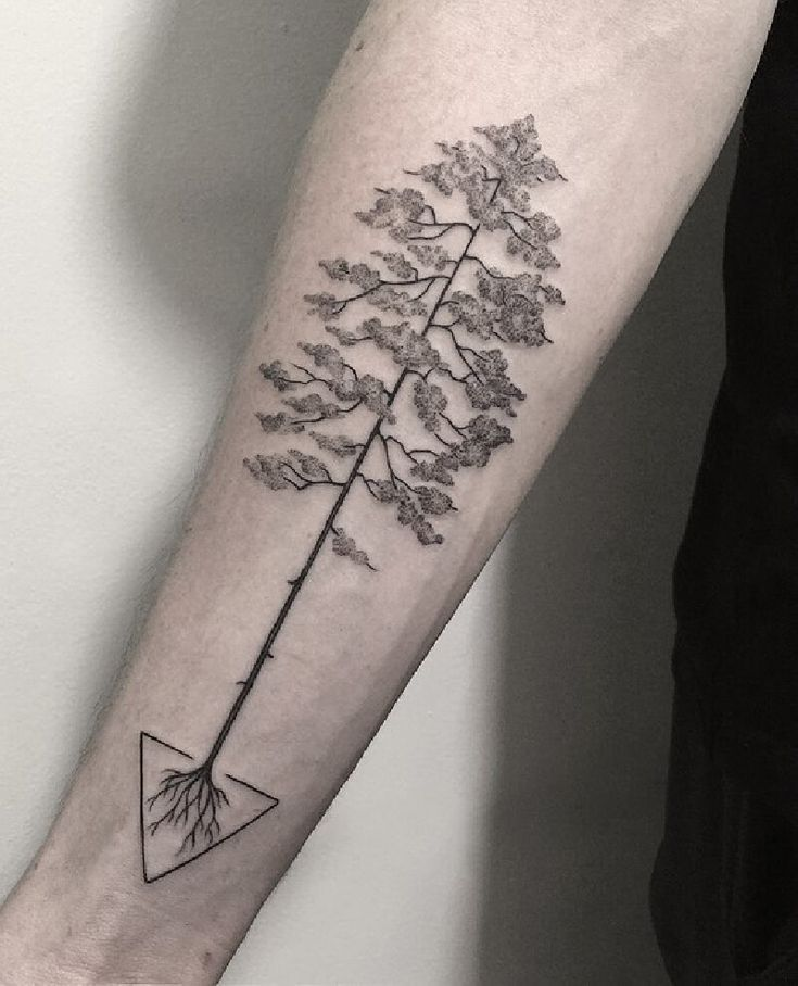 Tree Tattoo Design - Forest Ink Ideas as a Symbol of Life & Knowledge