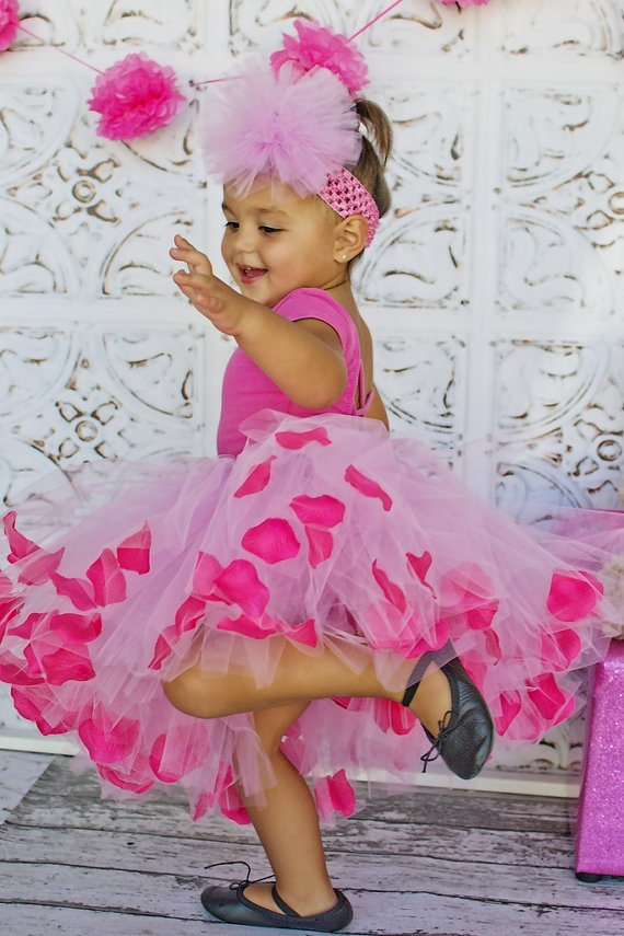Baby Pink Tutu Skirt with Floating Pink Rose by AngiesTutuBootique, $35.00: Tutu Skirts, Pink Tutu, Pink Rose, Baby Pink, Baby Store