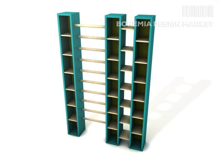 design bookcase with ladder