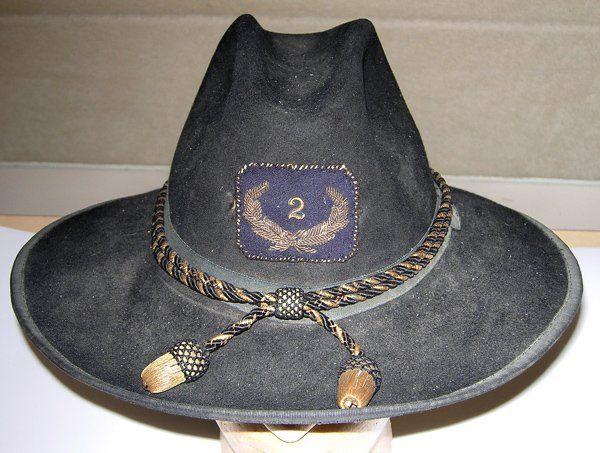 Civil War/Indian War officer's Slouch hat