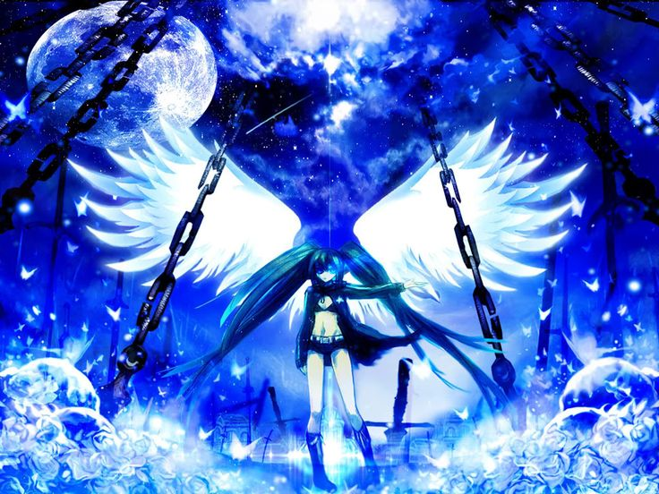Pin by Bailey on Black star Shooter Black rock shooter