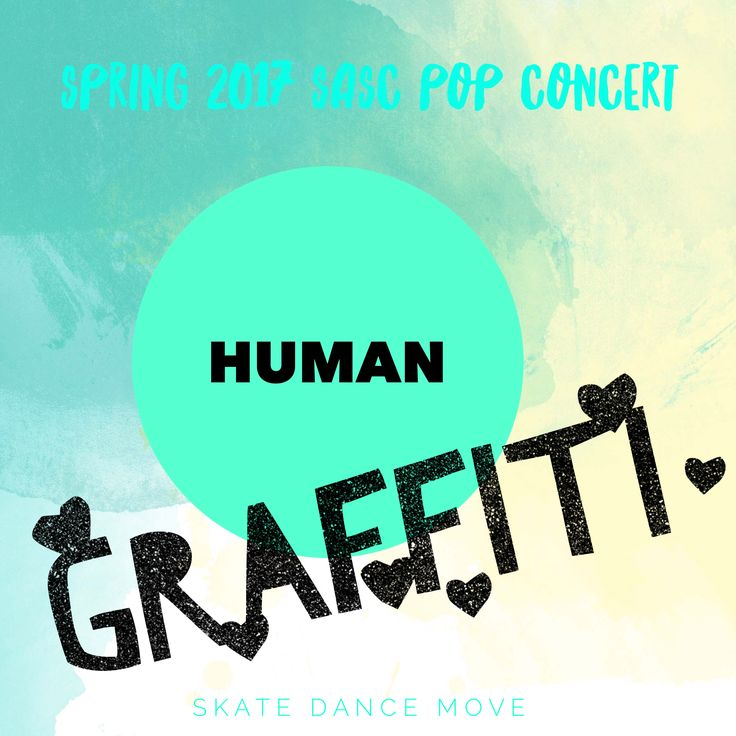 Human Graffiti... our theme for this performance